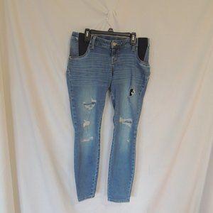 Liz Lange maternity Jeans Skinny ankle womens smal